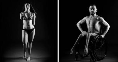 Fotógrafa faz ensaio com atletas paralímpicos brasileiros